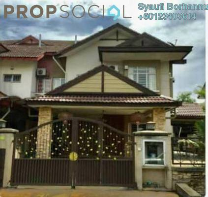 Semi-Detached For Sale in BP2, Bandar Bukit Puchong Freehold Semi Furnished 4R/4B 1.2m