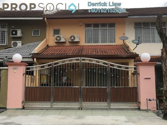 Terrace For Rent in Mahkota Walk, Bandar Mahkota Cheras Freehold Semi Furnished 4R/3B 1.3k