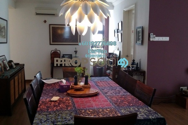 Condominium For Sale in Papillon Desahill, Taman Desa Freehold Fully Furnished 4R/2B 1.38m