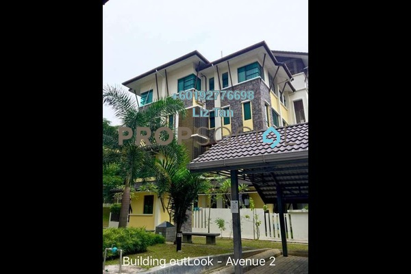 Townhouse For Rent in Lake Valley, Bandar Tun Hussein Onn Freehold Fully Furnished 3R/2B 1.8k