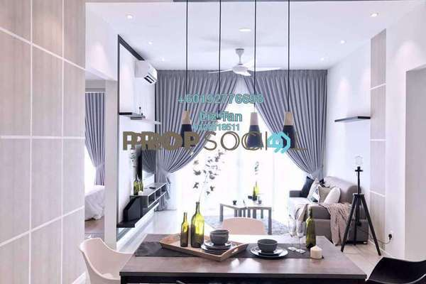Serviced Residence For Rent in Sunway GEO Residences, Bandar Sunway Freehold Fully Furnished 4R/3B 5.5k