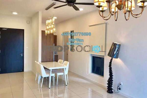 Condominium For Rent in Sunway GEO Residences, Bandar Sunway Freehold Fully Furnished 2R/2B 3.3k