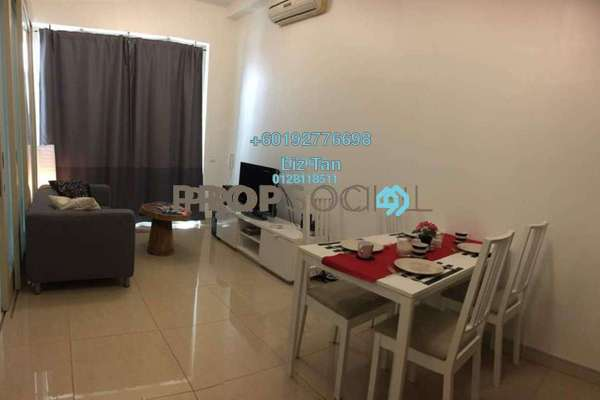 Serviced Residence For Sale in Marc Service Residence, KLCC Freehold Fully Furnished 1R/1B 1.16m