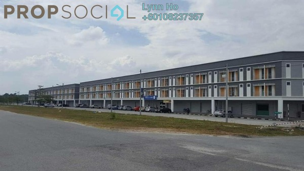 SoHo/Studio For Sale in Kampus West City, Kampar Freehold Semi Furnished 0R/0B 55k