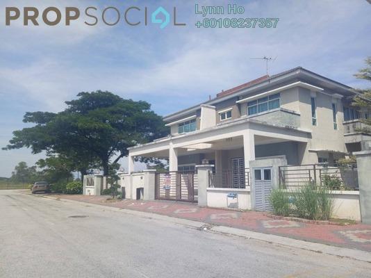 Semi-Detached For Sale in Taman Pengkalan Barat, Ipoh Leasehold Unfurnished 4R/3B 485k