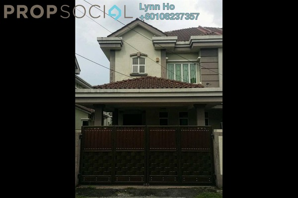 Semi-Detached For Sale in Taman Sinfar, Ipoh Leasehold Semi Furnished 5R/3B 538k