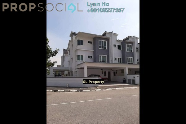 Townhouse For Sale in Ipoh Premier City, Ipoh Freehold Unfurnished 3R/3B 380k