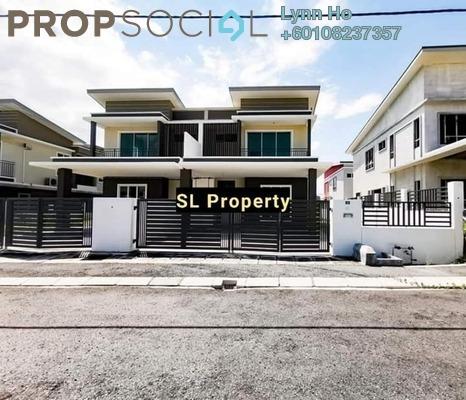 Semi-Detached For Sale in Panorama Lapangan Perdana, Ipoh Freehold Unfurnished 4R/3B 510k