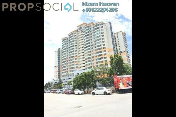 Apartment For Sale in Mutiara Anggerik, Shah Alam Freehold Unfurnished 3R/2B 500k