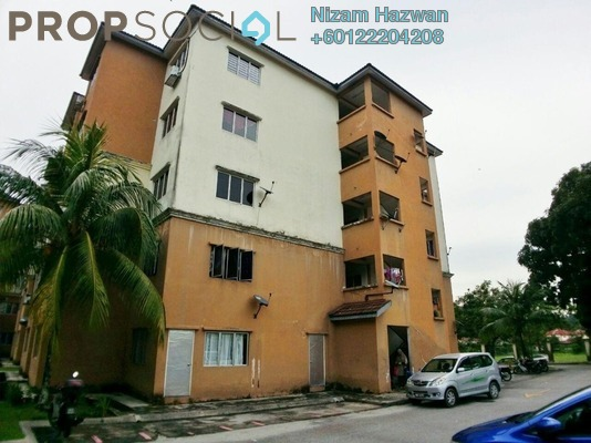 Apartment For Sale in Lily Apartment, Sungai Buloh Leasehold Unfurnished 3R/2B 200k