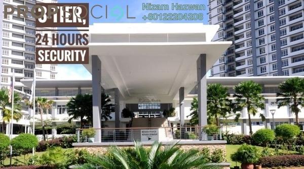 Condominium For Sale in Semarak Condominium, Batu Caves Leasehold Semi Furnished 3R/2B 398k