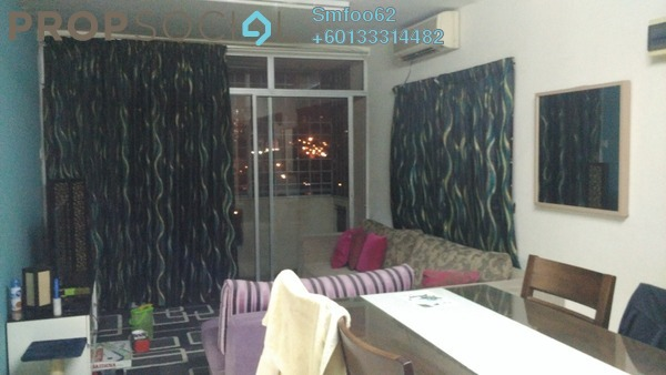Apartment For Rent in Dahlia Apartment, Setapak Freehold Unfurnished 3R/2B 1.3k