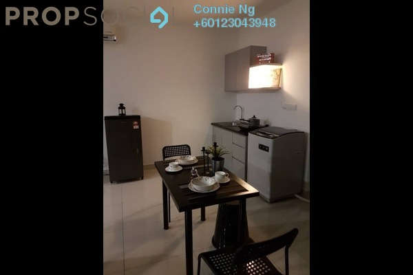 Condominium For Rent in Atria 3, Skudai Freehold Semi Furnished 1R/1B 2.1k