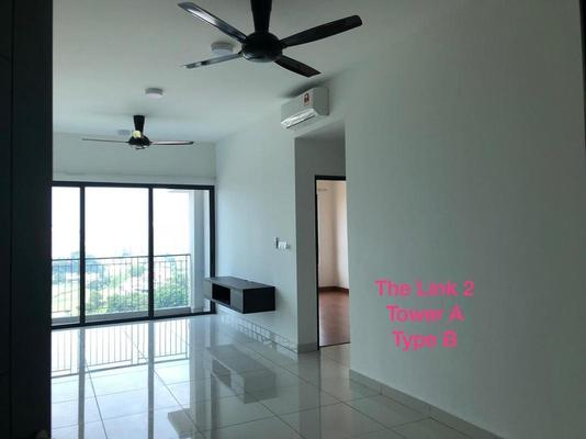 Condominium For Rent in The Link 2 @ Bukit Jalil, Bukit Jalil Freehold Semi Furnished 2R/2B 1.8k