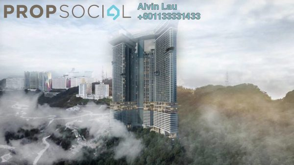 Condominium For Sale in Grand Ion Majestic, Genting Highlands Freehold Fully Furnished 1R/1B 509k