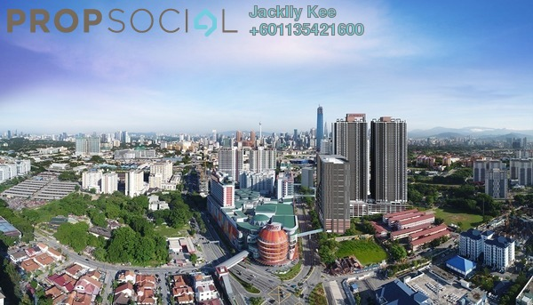 Condominium For Sale in Sunway Velocity TWO, Cheras Freehold Semi Furnished 3R/2B 700k