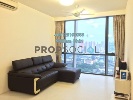 Condominium For Rent in The Capers, Sentul Freehold Fully Furnished 2R/2B 2.5k