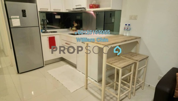 Condominium For Sale in Summer Suites, KLCC Freehold Fully Furnished 0R/1B 520k
