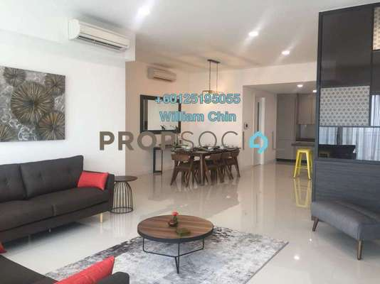 Condominium For Rent in Residensi 22, Mont Kiara Freehold Fully Furnished 4R/4B 10k