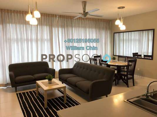 Condominium For Rent in The Saffron, Sentul Freehold Fully Furnished 3R/2B 2.8k