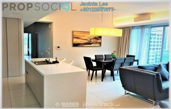 Serviced Residence For Sale in Suasana Bukit Ceylon, Bukit Ceylon Freehold Semi Furnished 3R/3B 972k