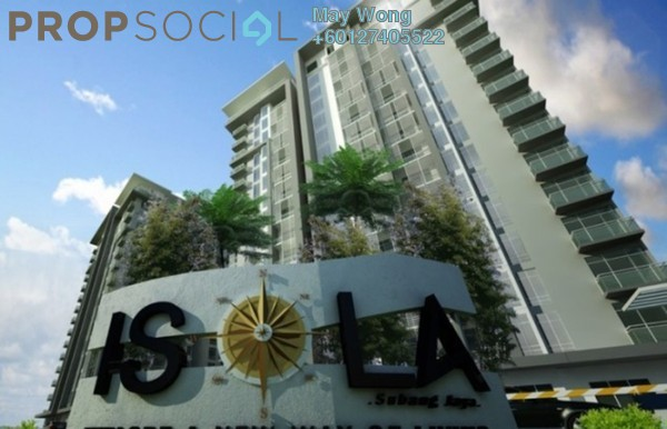 Condominium For Sale in Rhythm Avenue, UEP Subang Jaya Freehold Semi Furnished 3R/3B 1.23m