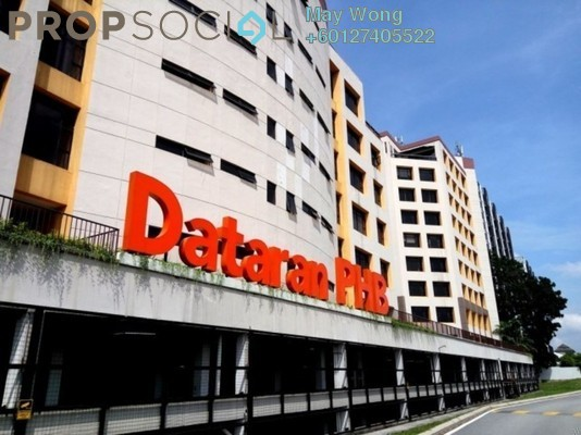 Office For Rent in Dataran Dwitasik, Bandar Sri Permaisuri Freehold Semi Furnished 0R/0B 8.21k