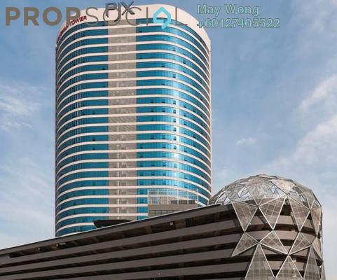 Office For Rent in Menara Zurich, Johor Bahru Freehold Semi Furnished 0R/0B 12.9k