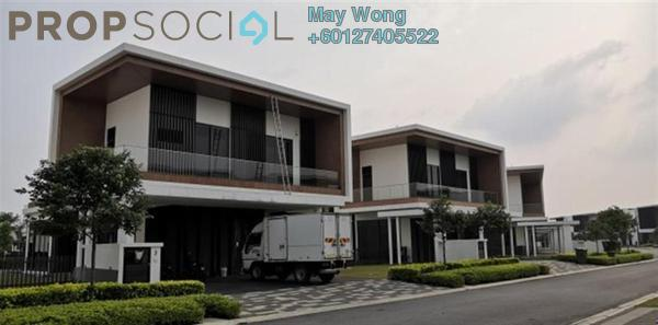 Semi-Detached For Rent in The Parque Residences @ Eco Sanctuary, Telok Panglima Garang Freehold Semi Furnished 5R/6B 5.2k
