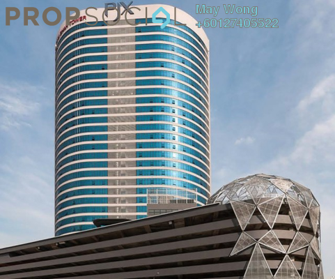 Office For Rent in Menara Zurich, Johor Bahru Freehold Semi Furnished 0R/0B 16.3k