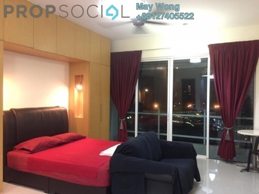 Serviced Residence For Rent in Oasis Ara Damansara, Ara Damansara Freehold Fully Furnished 0R/1B 1.7k