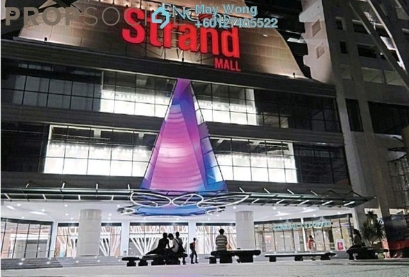 Condominium For Sale in Encorp Strand Residences, Kota Damansara Freehold Semi Furnished 0R/1B 688k