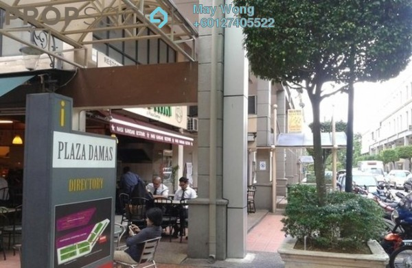 Shop For Sale in Plaza Damas, Sri Hartamas Freehold Semi Furnished 0R/0B 1.4m