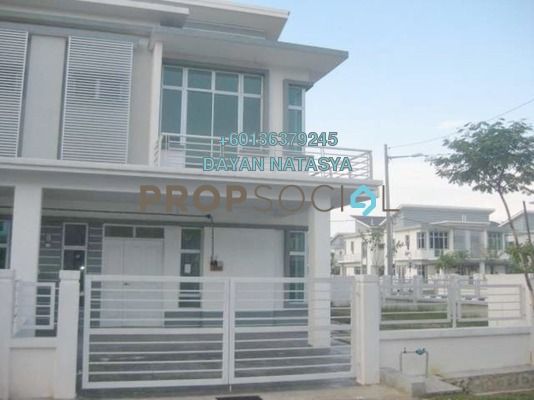 Semi-Detached For Sale in Royal Ivory 2, Bandar Saujana Putra Freehold Semi Furnished 4R/3B 900k