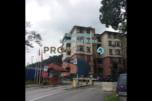 Condominium For Sale in Sri Wira Apartment, Ukay Freehold Unfurnished 3R/2B 245k