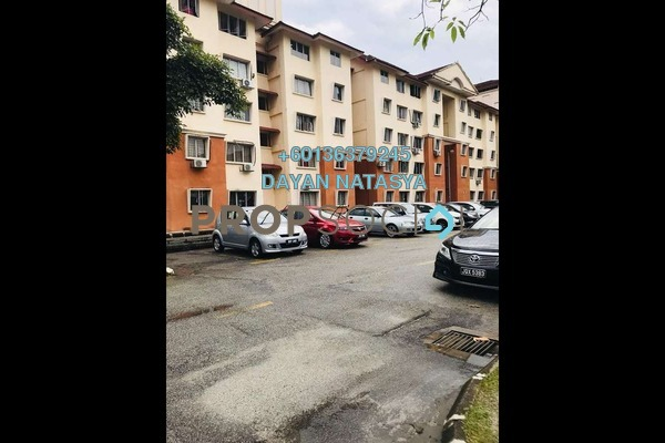 Apartment For Sale in Putra Damai Apartment, Putrajaya Freehold Semi Furnished 3R/2B 270k