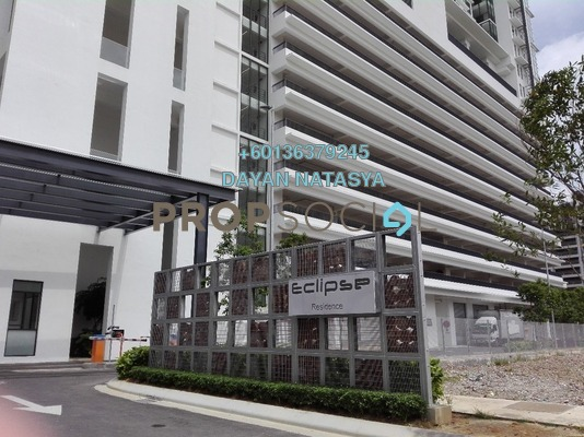 Duplex For Rent in Eclipse Residence @ Pan'gaea, Cyberjaya Freehold Fully Furnished 3R/2B 2.7k