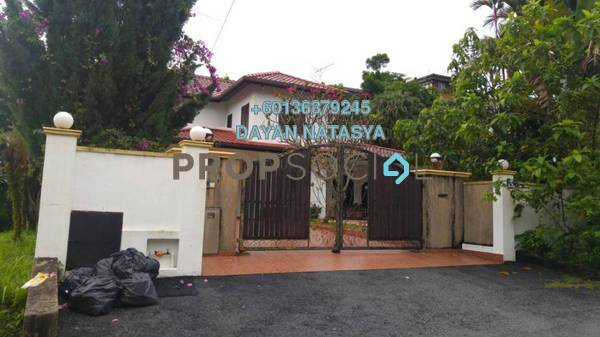 Bungalow For Sale in Taman Zooview, Ukay Freehold Semi Furnished 5R/4B 3.6m