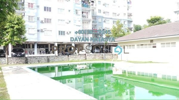 Apartment For Sale in Casa Riana, Bandar Putra Permai Freehold Unfurnished 3R/2B 280k