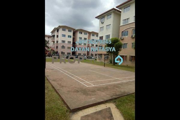 Apartment For Sale in Teratai Apartment, Bandar Mahkota Cheras Freehold Unfurnished 3R/2B 235k