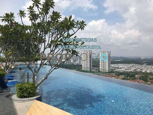 Serviced Residence For Sale in Eclipse Residence @ Pan'gaea, Cyberjaya Freehold Fully Furnished 3R/2B 830k