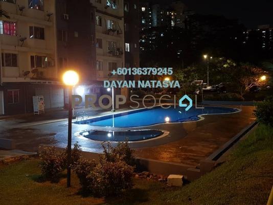 Condominium For Sale in Lestari Apartment, Bandar Sri Permaisuri Freehold Semi Furnished 3R/2B 350k