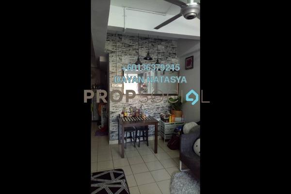 Duplex For Sale in Casmaria Apartment, Batu Caves Freehold Semi Furnished 3R/2B 295k