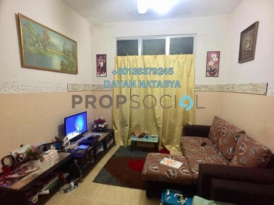 Apartment For Sale in Taman Lestari Perdana, Bandar Putra Permai Freehold Semi Furnished 3R/1B 150k