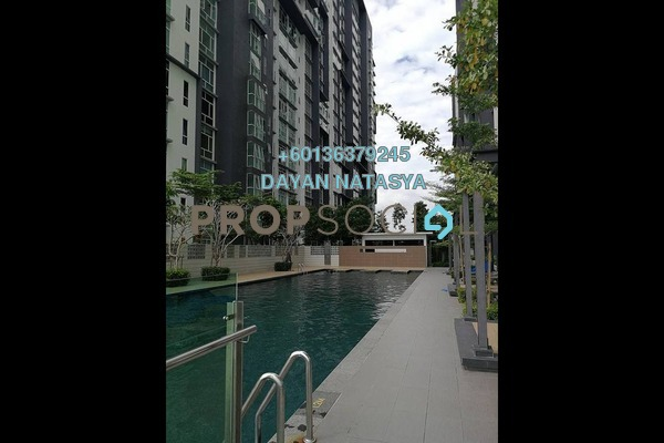 Serviced Residence For Rent in 3Elements, Bandar Putra Permai Freehold Semi Furnished 2R/2B 1k