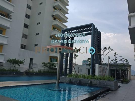 Condominium For Sale in Bayu Sentul, Sentul Freehold Semi Furnished 3R/3B 850k