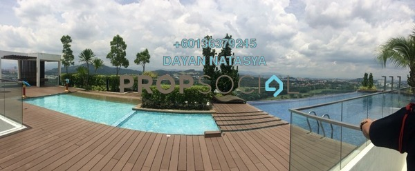 Serviced Residence For Sale in One South, Seri Kembangan Freehold Semi Furnished 3R/2B 650k