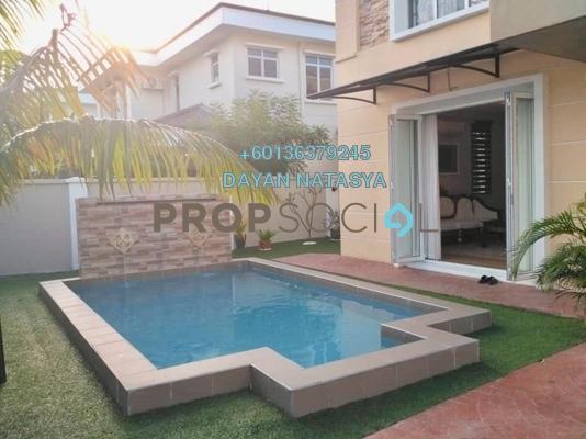 Bungalow For Sale in Kota Kemuning Hills, Kota Kemuning Freehold Semi Furnished 4R/4B 1.25m