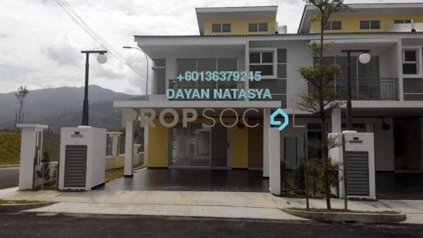 Terrace For Sale in D'Areca, Senawang Freehold Semi Furnished 4R/4B 473k