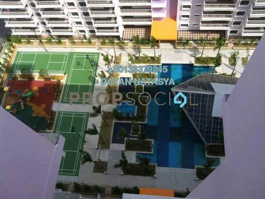 Serviced Residence For Sale in Indah Alam, Shah Alam Freehold Semi Furnished 6R/4B 1.3m